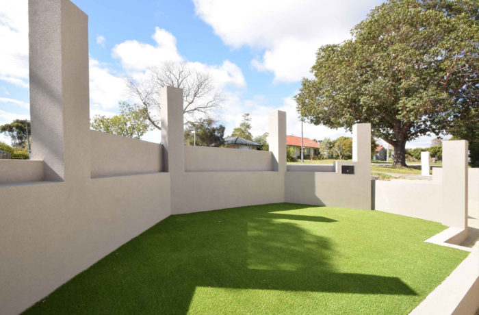 Retaining Front Wall